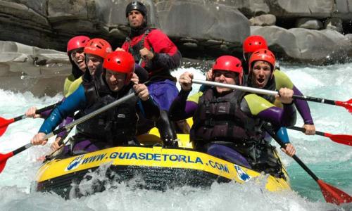 Lleida pretende atraer el turismo ruso a través de rafting