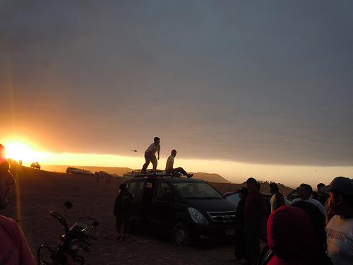 Rally Dakar 2012 amanecer
