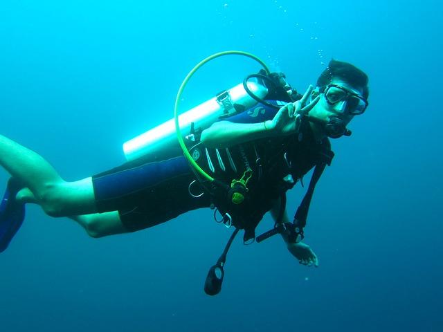 equipo de buceo - deportes aventura