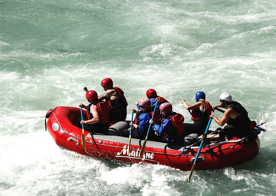 rafting con balsa