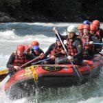 Lugares para hacer rafting en Cataluña