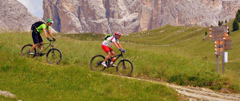 senderismo en bicicleta